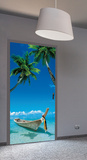 Eternal Quest Door Wallpaper Mural Wandgemälde