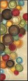 Launischer Mittwoch II Druck aufgezogen auf Holzplatte von Jeni Lee