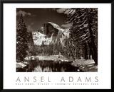 Half Dome, Merced River, Winter Prints by Ansel Adams