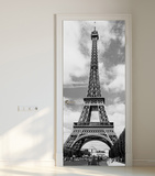 Eiffel Tower Door Wallpaper Mural Wallpaper Mural