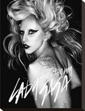 Lady Gaga-Born This Way Trykk på strukket lerret