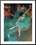Danseuse Affiche montée sur bois par Edgar Degas