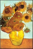 Sunflowers, c.1888 Mounted Print by Vincent van Gogh