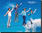 Take That The Circus Bedruckte aufgespannte Leinwand