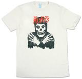 Misfits - Classic Skull Distressed T-Shirt