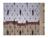 Golconde Posters por Rene Magritte