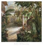 El jardín de invierno Lámina por  Haibin