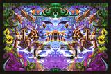 Jardín de pulpos Láminas por Richard Biffle