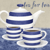 Tea For Two Poster von Linda Wood