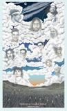 Heaven's House Band Poster von Van Trutanich