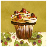 Cupcake Framboise Posters tekijänä Pascal Cessou