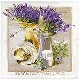Marche Provence Lavande Prints by  Lizie