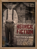 Historical Fiction Literary Genre Posters by Jeanne Stevenson