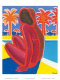 La Cote D'Azur c.1968 ポスター : ベルナール・ヴューモ