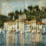 Mediterranean Hillside Poster by Robert Canady