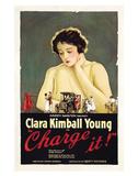 Charge It - 1921 Impressão giclée