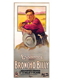 Broncho Billy - 1915 Impressão giclée
