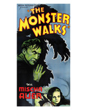 The Monster Walks - 1932 I Giclee Print