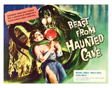 Beast From Haunted Cave - 1960 II Impressão giclée