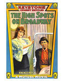 The High Spots On Broadway - 1914 Impressão giclée