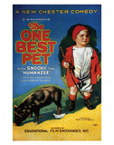 The One Best Pet - 1920 Impressão giclée