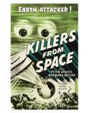 Killers From Space - 1954 Impressão giclée