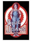 Blue Jeans - 1917 Impressão giclée