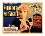 Murder at Midnight - 1931 ジクレープリント