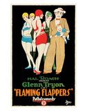 Flaming Flappers - 1925 Impressão giclée