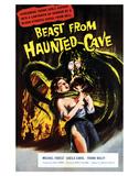 Beast From Haunted Cave - 1960 I Impressão giclée