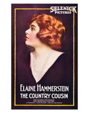 The Country Cousin - 1919 Impressão giclée