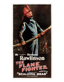 The Flame Fighter - 1925 I Giclee-trykk
