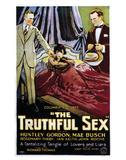 The Truthful Sex - 1926 Impressão giclée