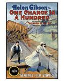 Hazards Of Helen - 1915 Impressão giclée
