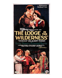 The Lodge In The Wilderness - 1926 I Giclee-trykk