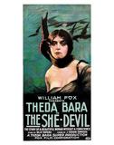 The She Devil - 1918 Impressão giclée