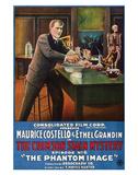 The Crimson Stain Mystery - 1916 II Impressão giclée