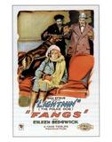 Fangs - 1926 Giclee-trykk