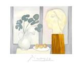 Nature Morte a la Fenetre Impressão colecionável por Pablo Picasso