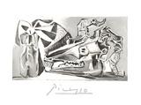 Nature Morte a la Tete Chevre, Boutei Impressão colecionável por Pablo Picasso