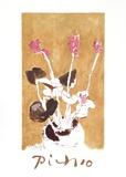 Les Cyclamens Impressão colecionável por Pablo Picasso