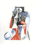 Sitzende Frau Sammlerdrucke von Pablo Picasso
