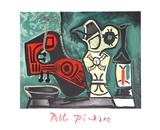 Compotition a la Mandoline Impressão colecionável por Pablo Picasso