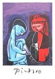 Deux Enfants Claude et Paloma Sammlerdrucke von Pablo Picasso