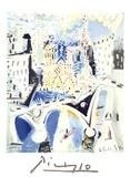 Notre Dame Impressão colecionável por Pablo Picasso