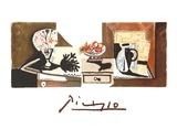 Stilleben mit Birnen und Trauben Sammlerdrucke von Pablo Picasso