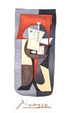 Guitare et Partition Reproduction pour collectionneur par Pablo Picasso