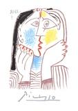 Visage Samlertryk af Pablo Picasso