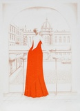In the Cafe (Red) Særudgave af Branko Bahunek