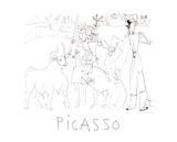 Chevalier Picador Dans L'Arene Impressão colecionável por Pablo Picasso